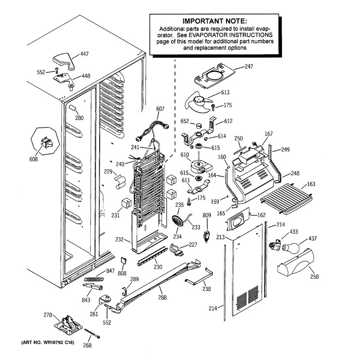 Diagram for ESS25LSMABS