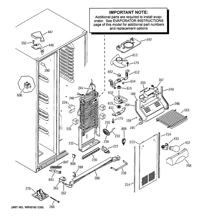Diagram for ESS25LGMEWW