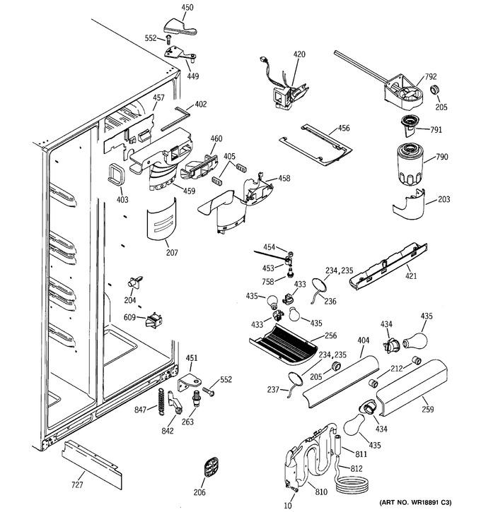 Diagram for GSS25XGPAWW
