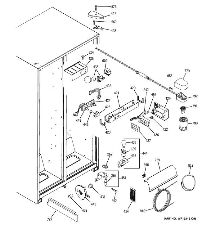 Diagram for DSS25JFPAWW
