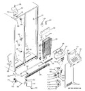 Diagram for 3 - Freezer Section