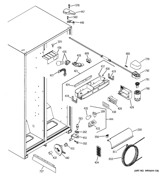 Diagram for GSH22VGPBWW
