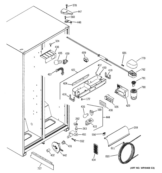 Diagram for GSS22QGPDWW