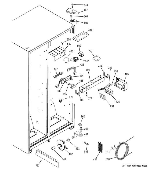 Diagram for GSA22KEPCFBB