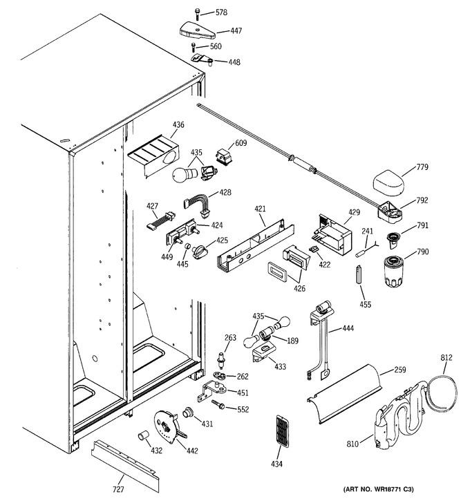 Diagram for ESS25XGMBWW