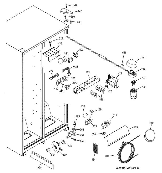 Diagram for ESS25XGMCWW
