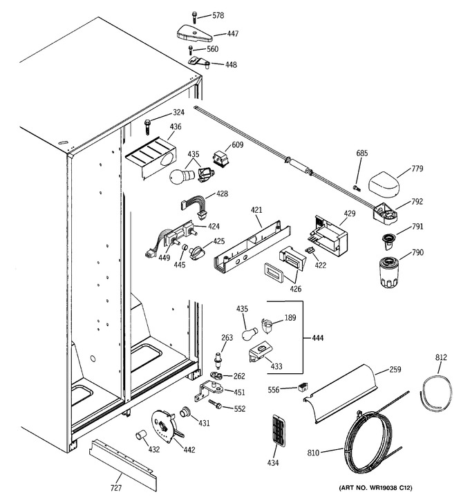 Diagram for ESS25XGMDWW