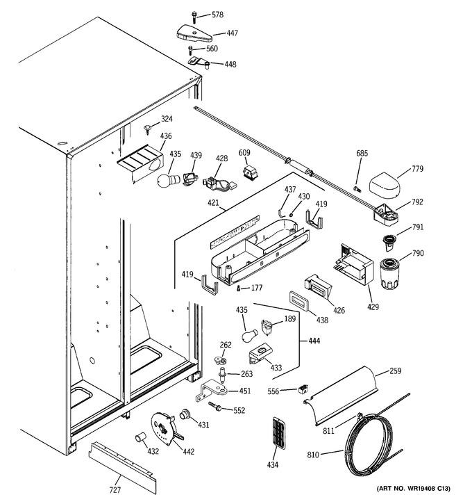 Diagram for ESH22XGRBCC