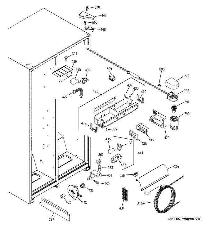 Diagram for ESH22XGPDCC