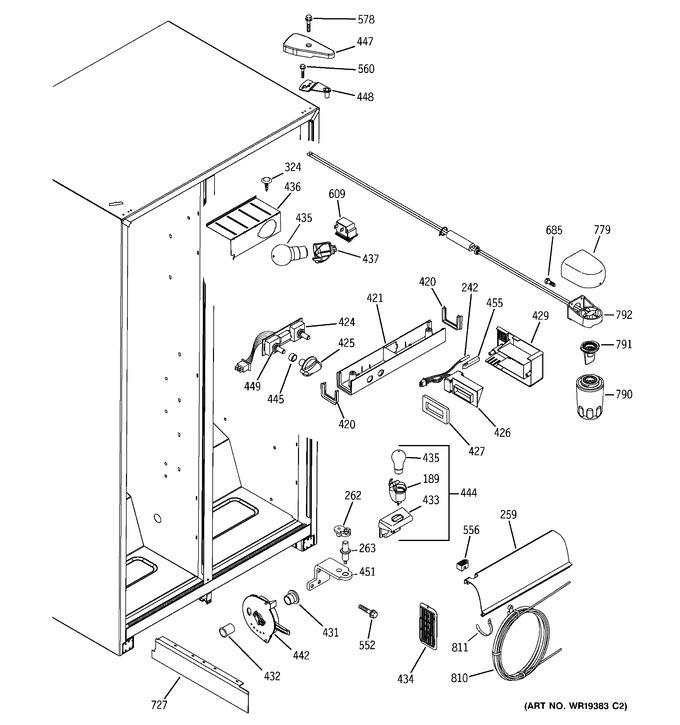 Diagram for GSS25JFPBWW
