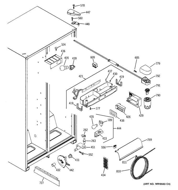 Diagram for GSH22VGREWW