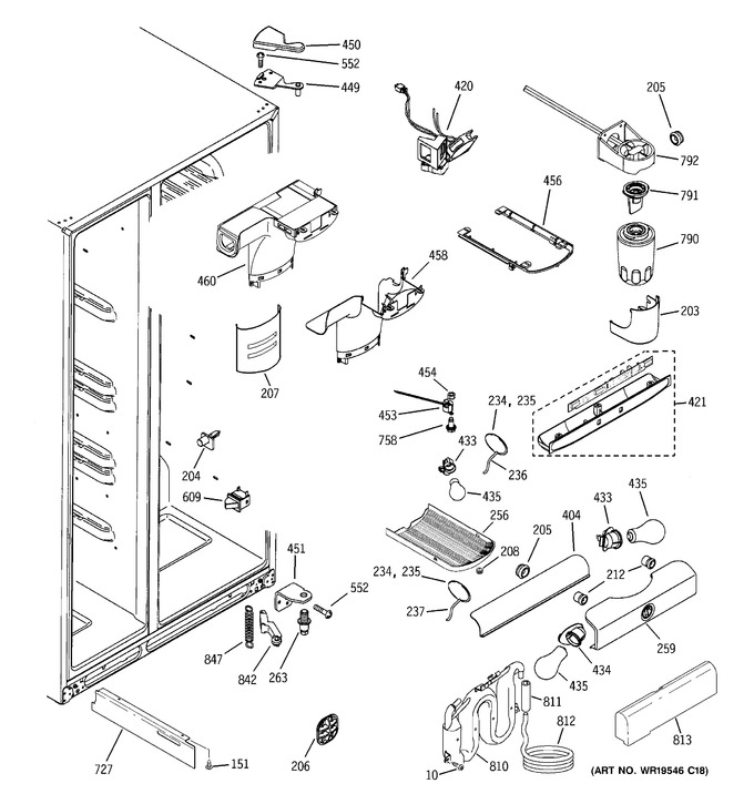 Diagram for GSC23LGRCWW