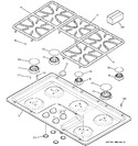 Diagram for 1 - Cooktop