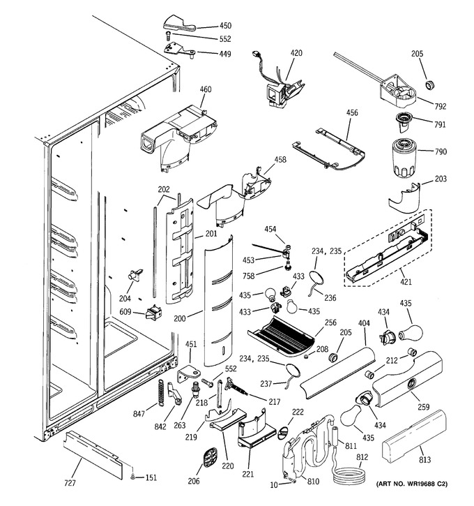 Diagram for PCK23NHSAFCC