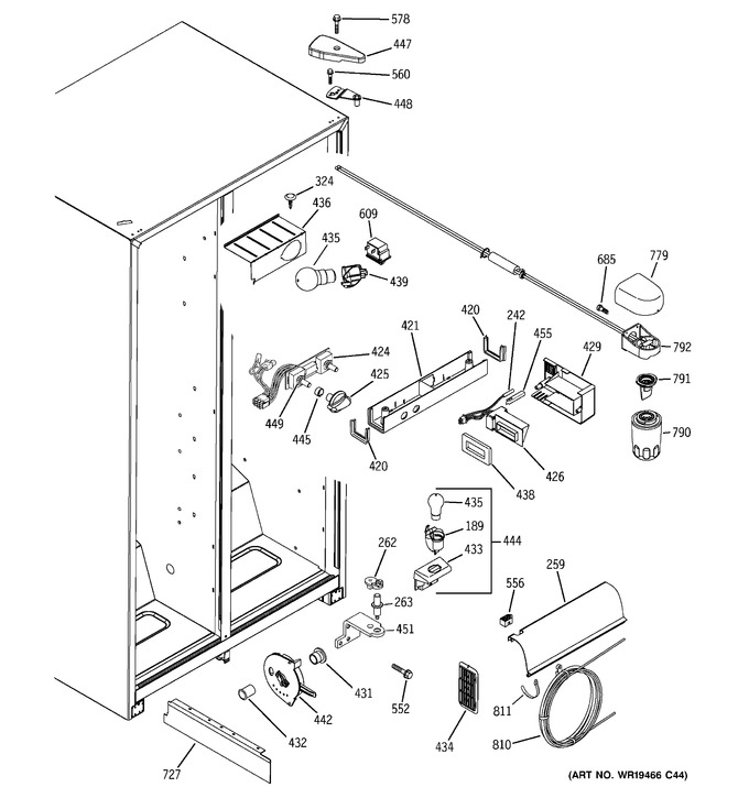 Diagram for GSH22JFRIWW