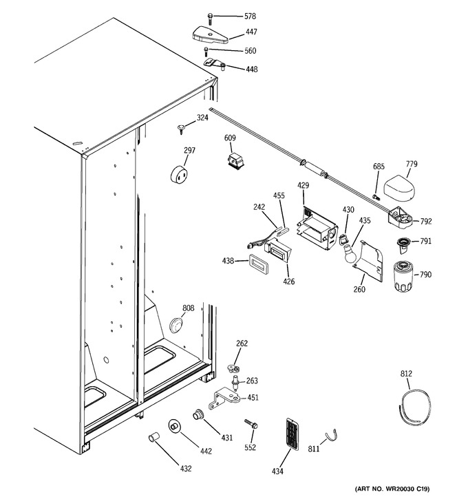 Diagram for HSS25GFTABB
