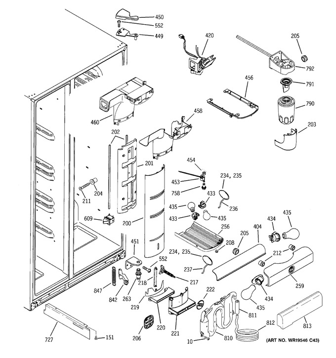 Diagram for GSS25LSTBSS