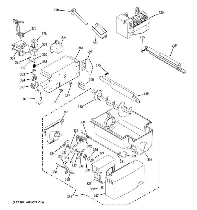 Diagram for GSS25KGTBBB