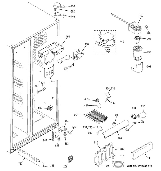 Diagram for GSS25QSTBSS