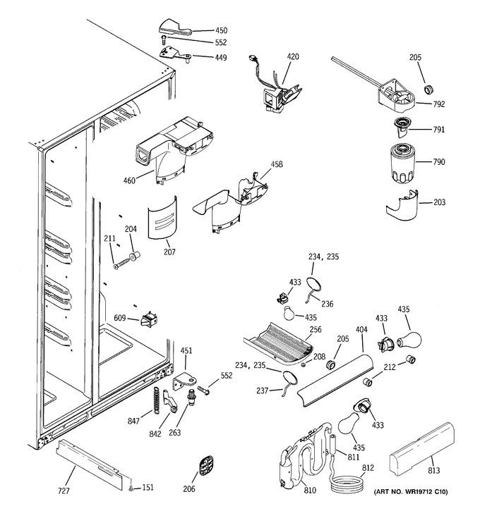 Diagram for GCE23LGTAFBB
