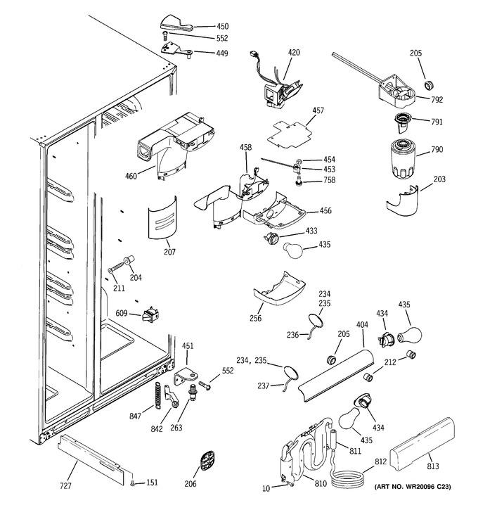 Diagram for GCE23LHTBFSS