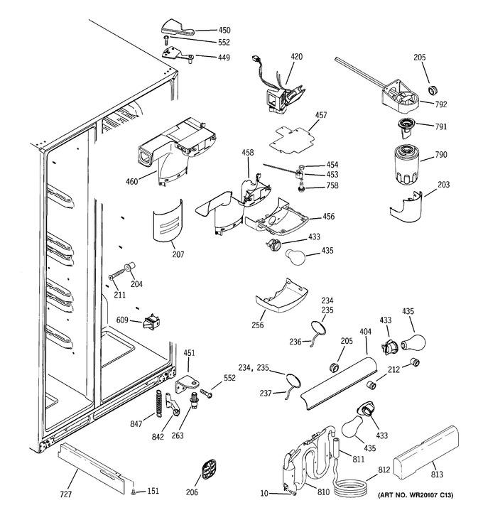 Diagram for GCE23LHTBFBB