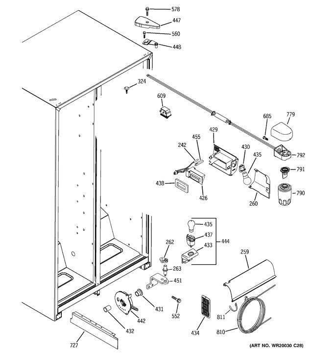 Diagram for ESH25JFWBBB
