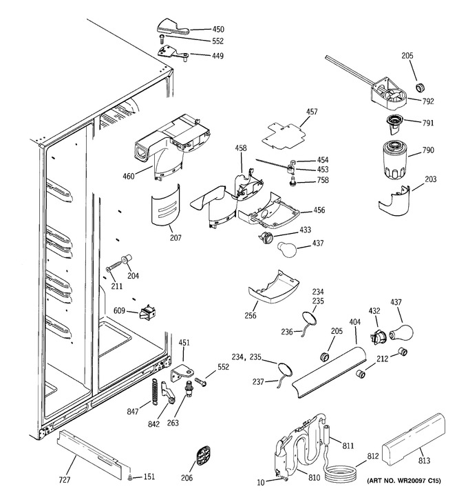 Diagram for ESF25QGWACC