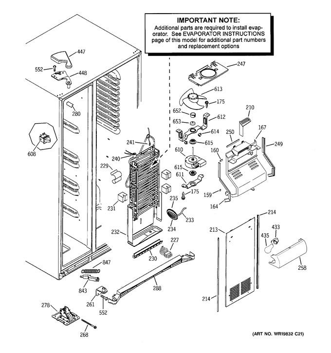Diagram for DSD26DHWCBG
