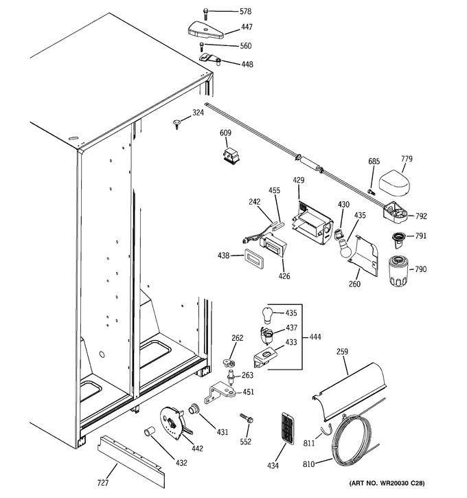Diagram for GSH25JFTEBB