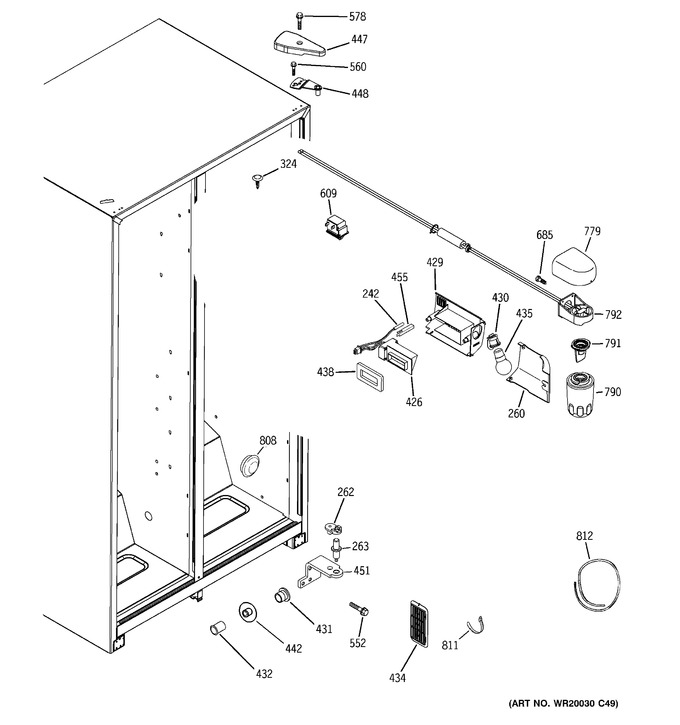 Diagram for HSM25GFTBSA