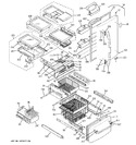 Diagram for 1 - Doors & Shelves
