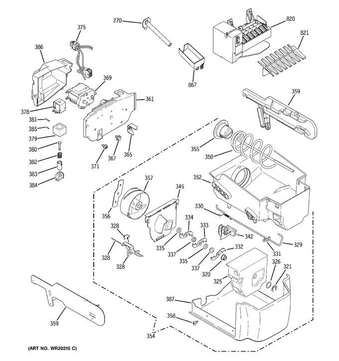 Diagram for PCF23PGWCWW