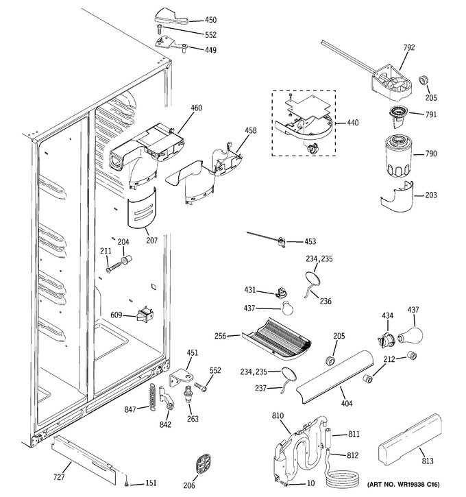 Diagram for GSS25WGTBBB