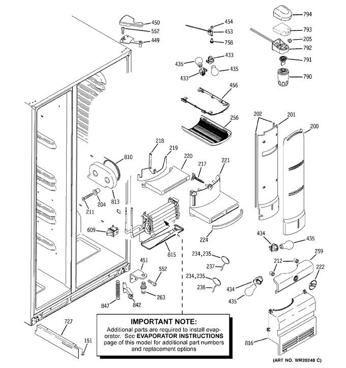 Diagram for PSW23RSWCSS