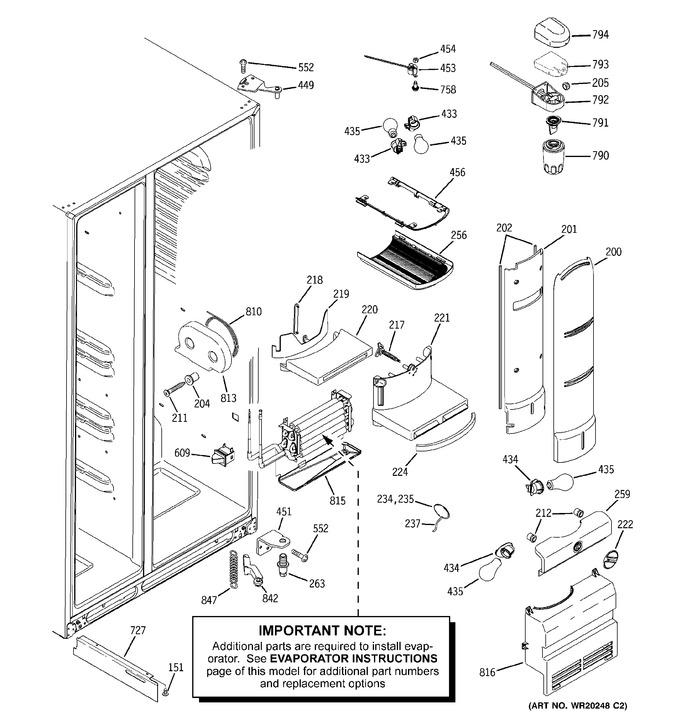 Diagram for PSW26RSWCSS