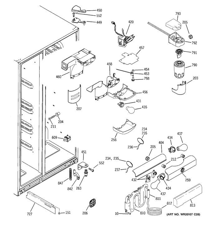 Diagram for GSS25KSWCSS