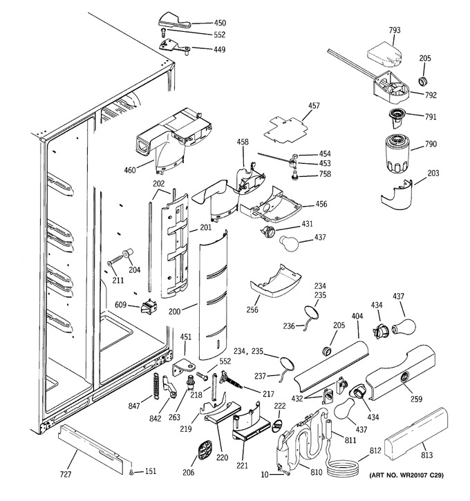 Diagram for PCF23MGWDBB