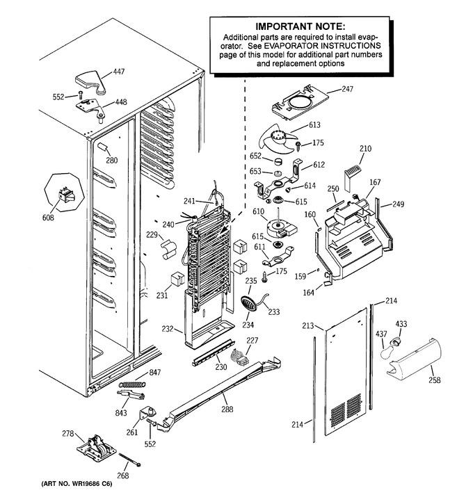 Diagram for GSF25KGWABB