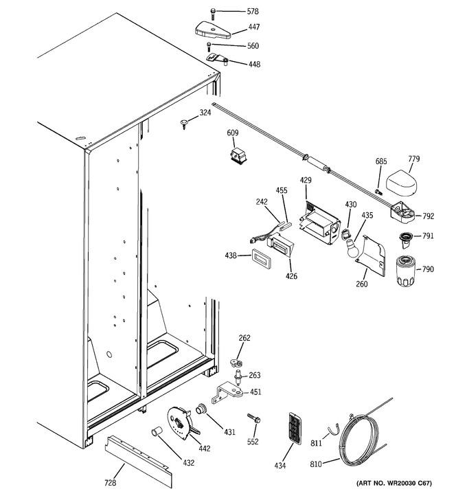 Diagram for HSH25IFTDWW