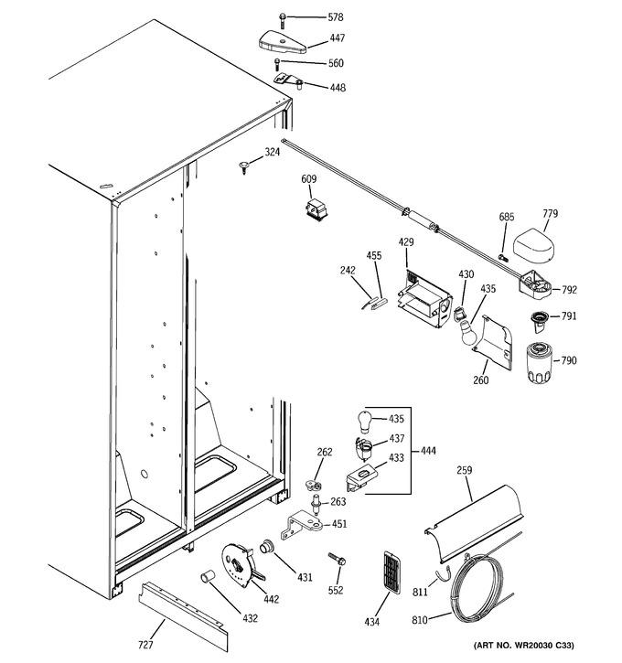 Diagram for GSH25JFTFWW