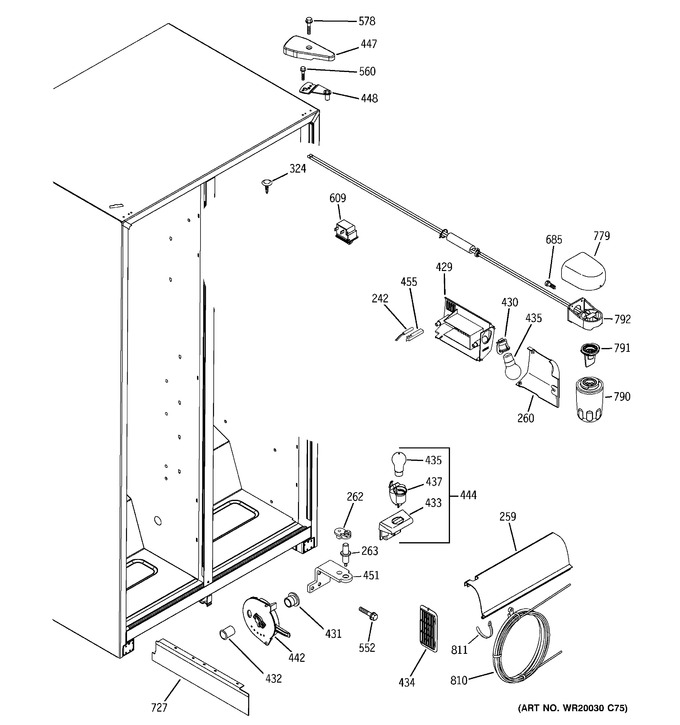 Diagram for GSH22JFTCBB