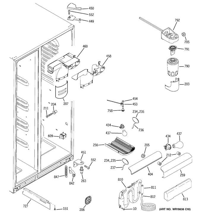 Diagram for GSS25KGTAWW