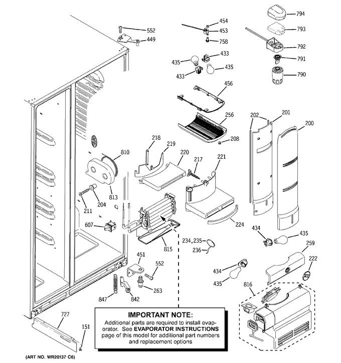 Diagram for PSH25PSWASS