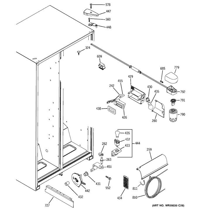 Diagram for GSL25JFXALB