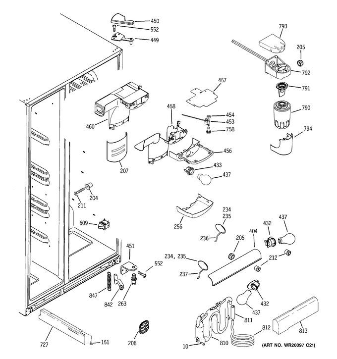 Diagram for DSF26DHWABB