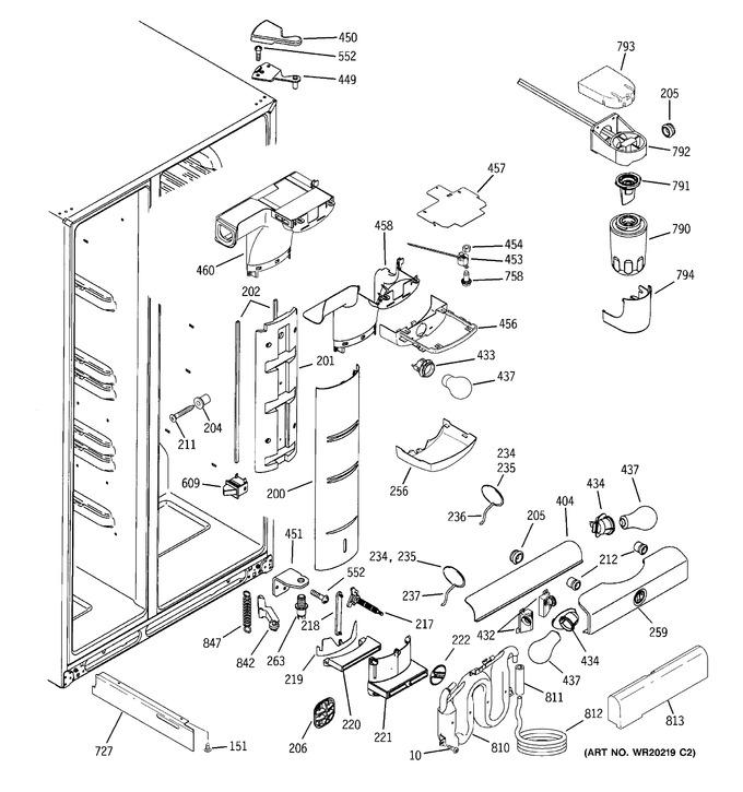 Diagram for PCF23MGWCBB