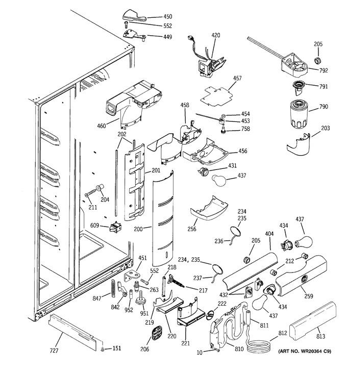 Diagram for GCE21MGTIFWW