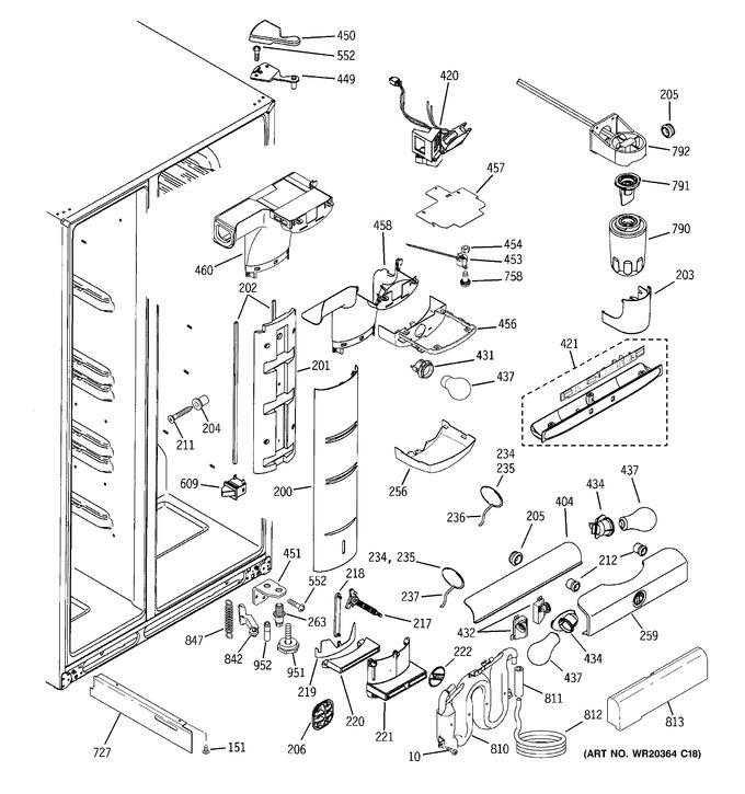 Diagram for PCE23NHTIFWW