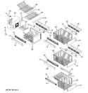 Diagram for 6 - Freezer Shelves
